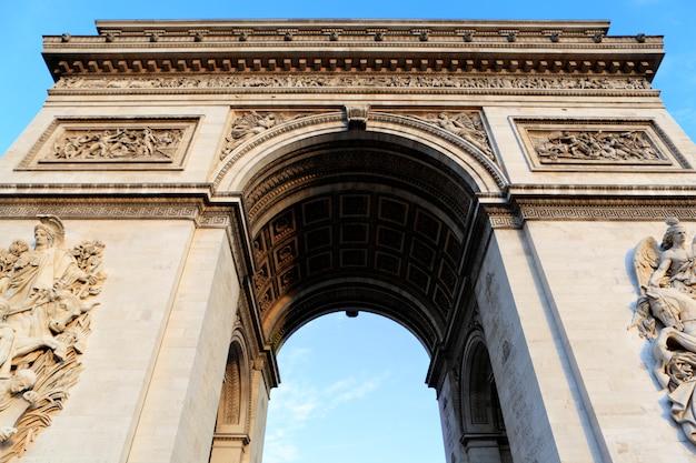 Arco del triunfo en parís, francia Foto Gratis