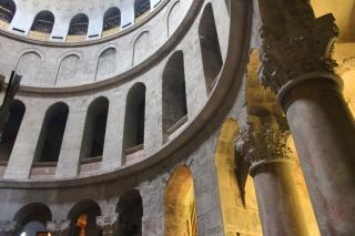 Arcos en la iglesia del santo sepulcro Foto gratis