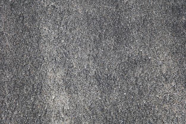 Arenas volcánicas negras en la playa. Foto Premium