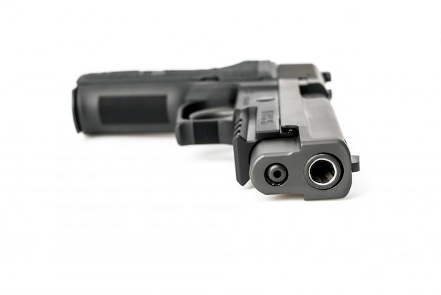 Arma aislado en el fondo blanco Foto gratis