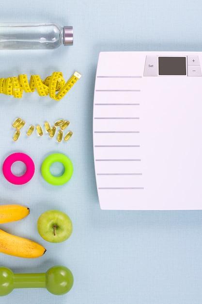 concepto de pérdida de peso