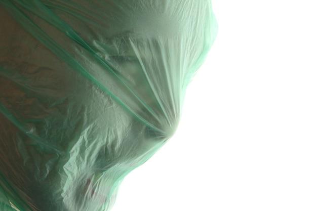 Hombre De Plástico AsfixiaUn Una Transparente Verde Bolsa Con bv6fgY7y