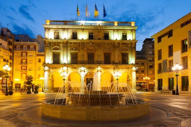 Ayuntamiento de castell n de la plana en la noche - Muebles en castellon dela plana ...