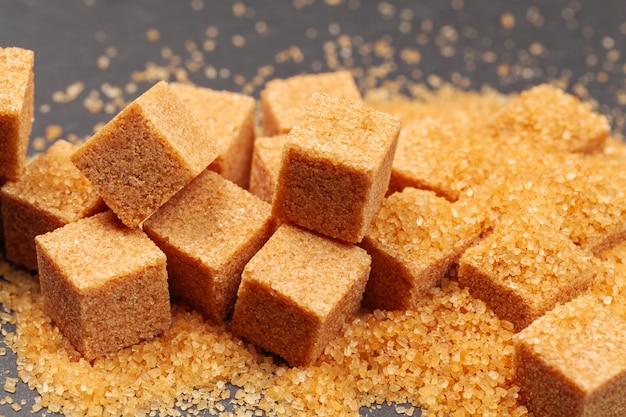 Azúcar de roca de cerca Foto Premium
