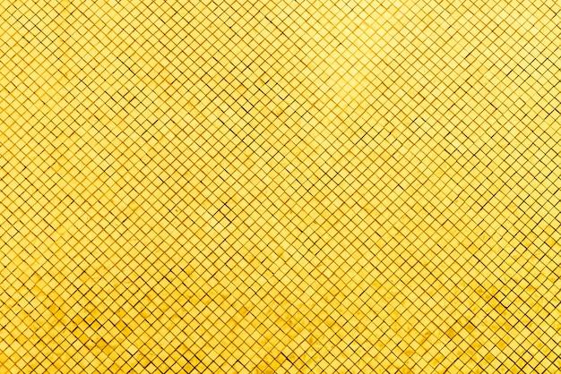 Azulejo de mosaico de oro Foto gratis