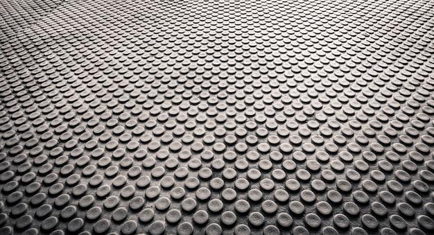 Backgorund abstracto de la textura del punto, perspectiva y vista de clode-up, fondo del suelo del horizonte Foto Premium