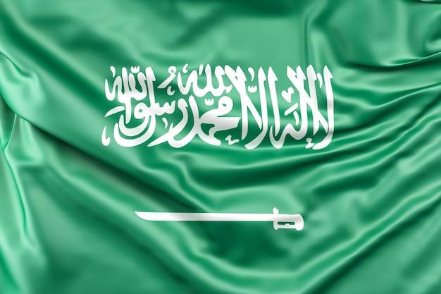 Bandera de arabia saudita Foto gratis