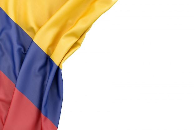 Bandera de colombia Foto Premium