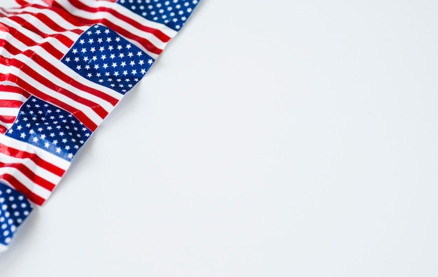 Bandera de estados unidos de américa o estados unidos. Foto Premium
