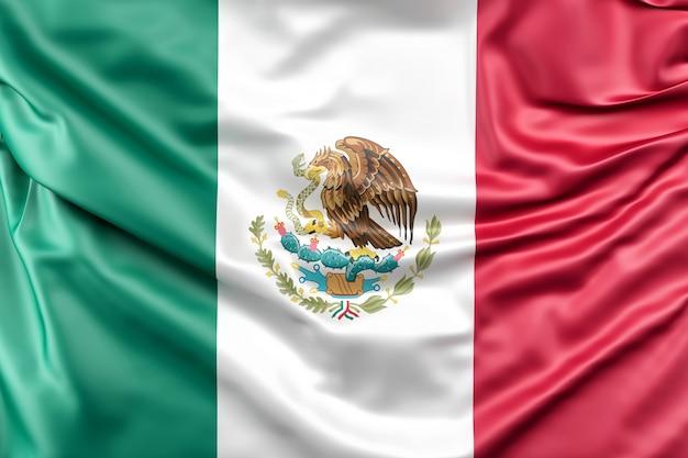 Bandera de méxico Foto gratis
