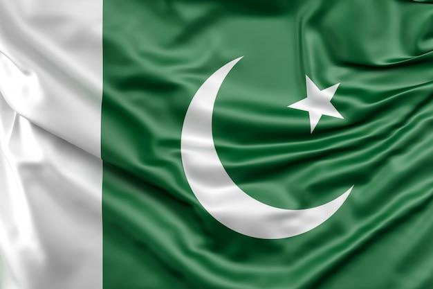 Bandera de pakistán Foto gratis