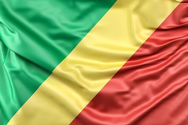 Bandera De La República Del Congo Foto Gratis