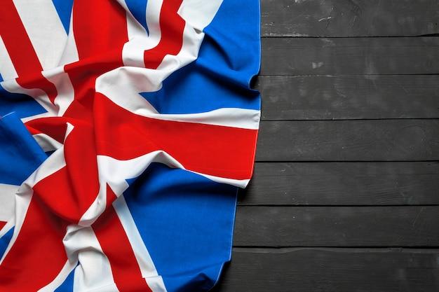 Bandera de union jack Foto Premium