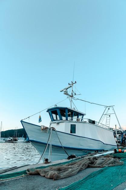 Barco pesquero Foto Premium