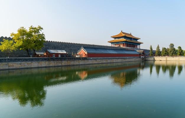 Beijing, china ciudad prohibida Foto Premium