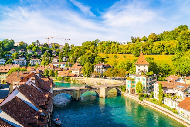 Berna, capital de suiza Foto Premium