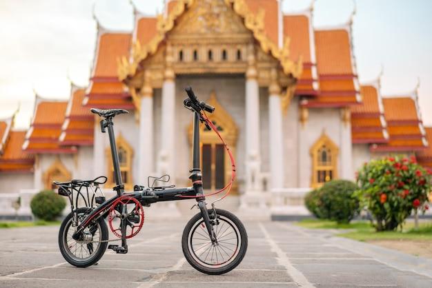Bicicleta negra Foto Premium