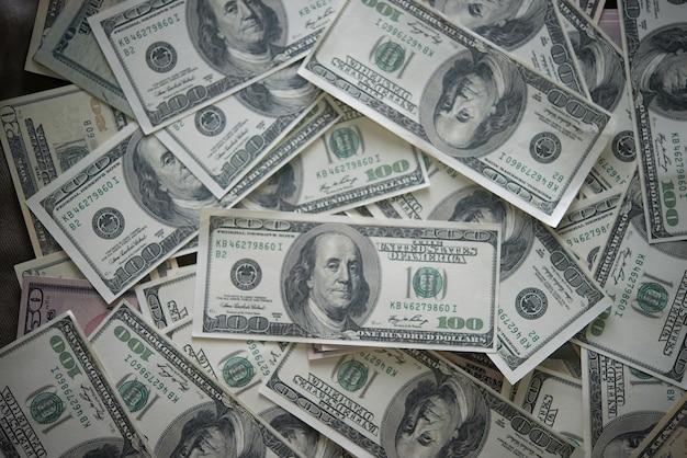 Billie dólar. fondo de dinero Foto gratis