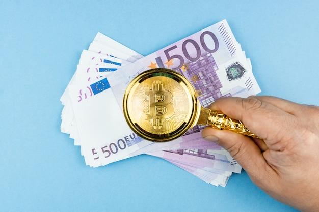 bitcoin euro estoques cfd