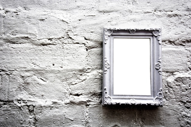 Blanco marco vacío con copia espacio libre.   Descargar Fotos gratis