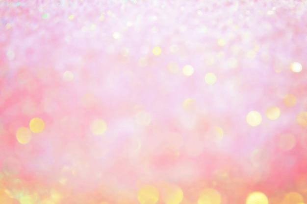 Bokeh borrosa fondo brillante de vacaciones. Foto Premium
