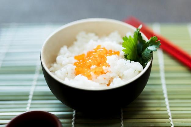 Bol de arroz Foto gratis