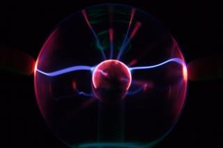Bola de plasma, resplandor Foto gratis