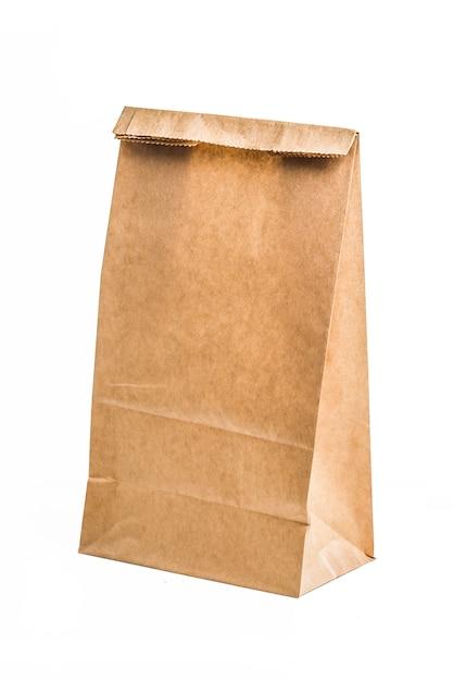 Bolsa de papel kraft   Foto Gratis