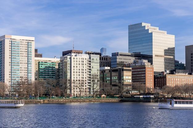 Boston centro Foto Premium