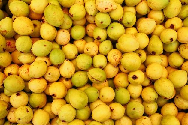Buayaba o guayabilla fruta psidium guajava linnaeus Foto Premium