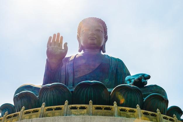Buddah gran estatua gigante asiático Foto gratis