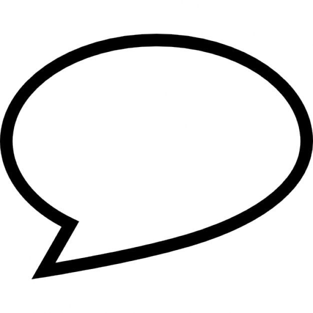 Oval Speech | Fotos y Vectores gratis