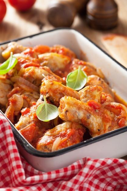 Cacciatore de pollo italiano Foto Premium