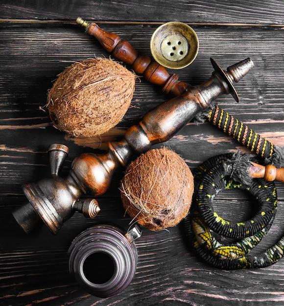 Cachimba con sabor a coco Foto Premium