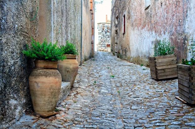 Calles de erice Foto Premium