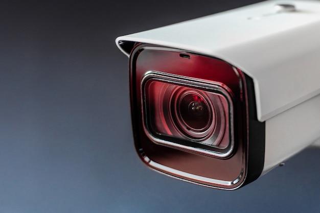 Cámara de cctv. cámara de seguridad del sistema.cctv Foto Premium