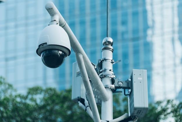 Cámara de seguridad cctv Foto gratis