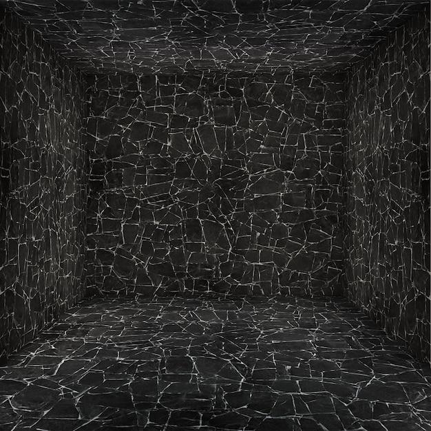 Cámara de vacío con las paredes texturadas Foto gratis