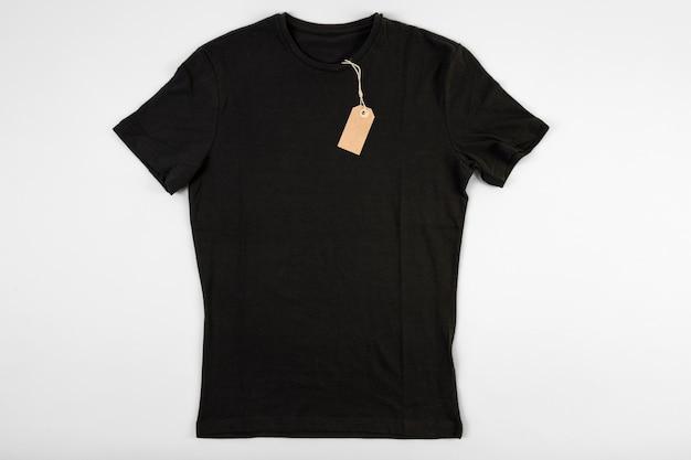 Camiseta negra Foto Premium