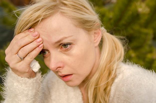 Cabeza dolor sinusal frío