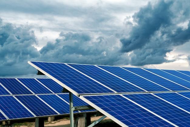 Características del panel solar Foto Premium