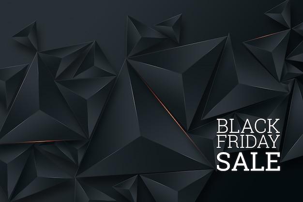 Cartel de venta de viernes negro Foto Premium
