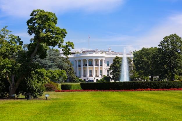 La casa blanca en washington dc usa Foto Premium
