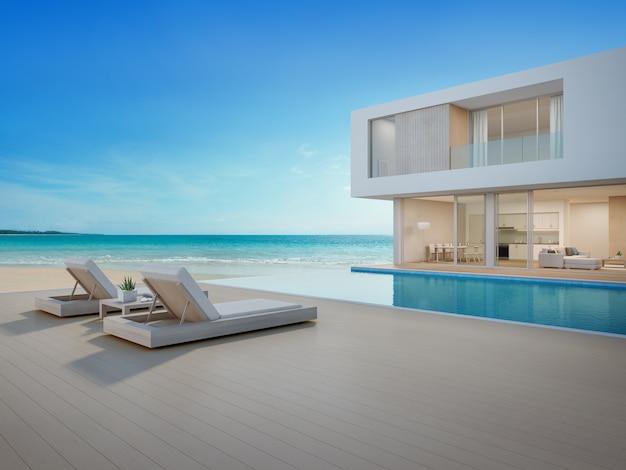 Casa de playa de lujo con vista al mar piscina y terraza for Fotos de piscinas modernas en puerto rico