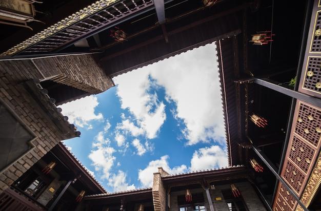Casa de t al aire libre del cielo de ladrillo de madera for Immagini del piano casa gratis