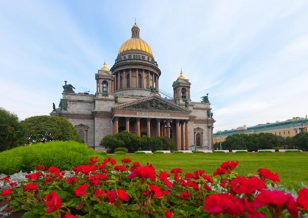 Catedral de san isaac en san petersburgo Foto gratis