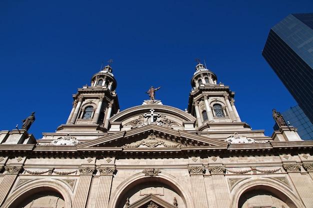 La catedral de santiago de chile Foto Premium