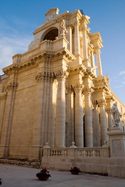 Catedral de siracusa Foto Premium
