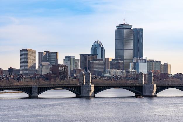 Centro de boston Foto Premium