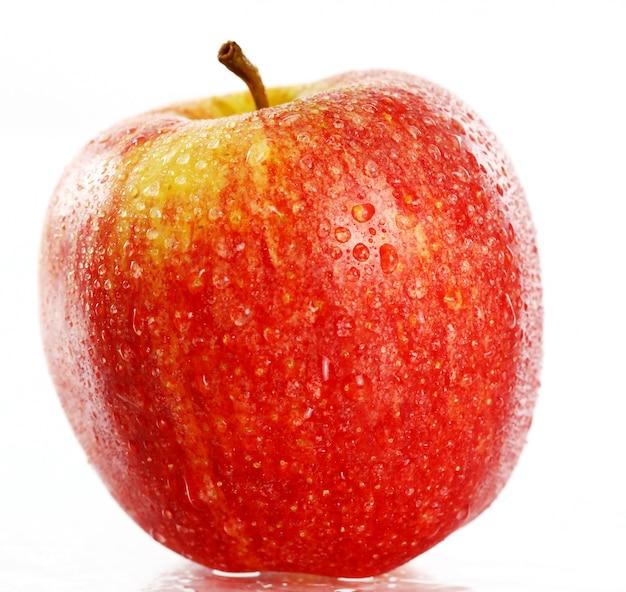 Cerca de manzana fresca Foto gratis